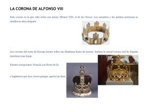 corona de Alfonso VIII