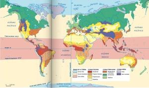 mapa climas